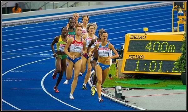 Semi-final dos 800 metros.