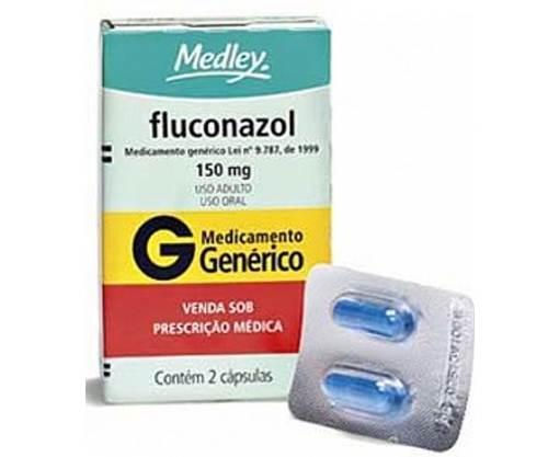 Caixa de Fluconazol