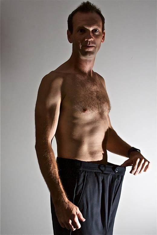 Homem ex-sedentário após perder peso. (rich115/flickr)