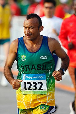 José Teles de Souza nas Olimpíadas de Pequim. (Washington Alves/COB)