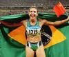 Maurren Maggio comemora a medalha de ouro nas Olimpíadas de Pequim. (Wnader Roberto/COB)