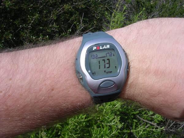 Relógio frequencímetro cardíado da marca polar. (IvyMike/flickr)